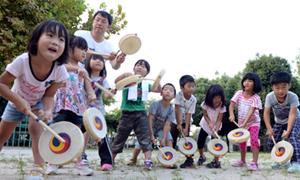 子どもプンムル練習