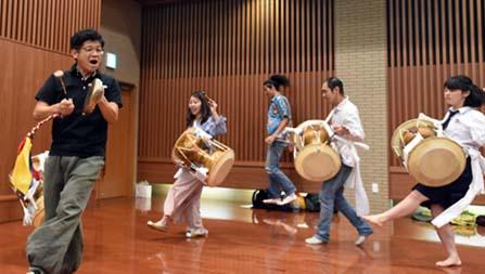 楽器の練習開始