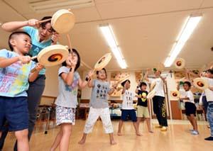 子供の楽器練習も開始